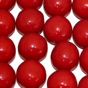 Red Bubble Gum Balls - 2lb