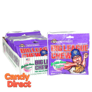 Grape Big League Chew - 12ct