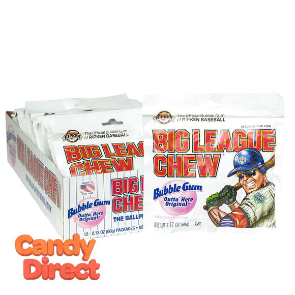 Original Big League Chew - 12ct