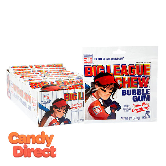 Big Chew Original Girl Power League 2.12oz - 12ct