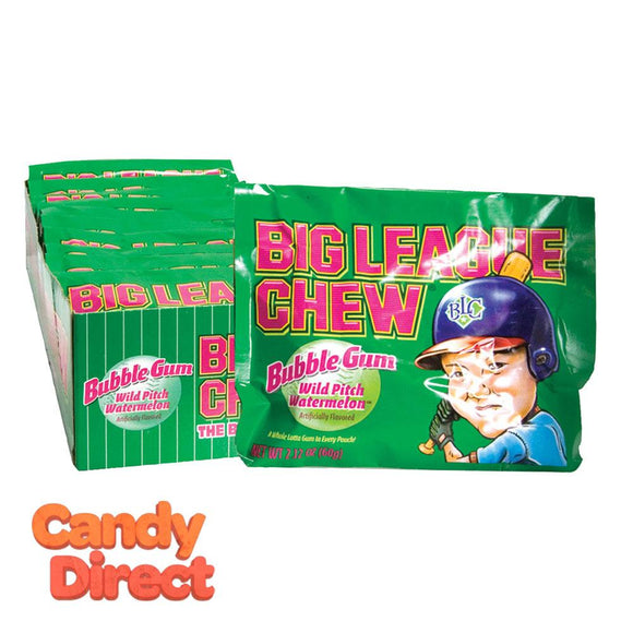 Watermelon Big League Chew - 12ct