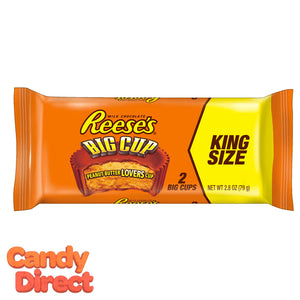 Big Cups Reese's King Size Peanut Butter Cups - 16ct