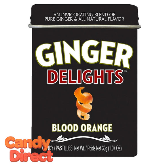 Blood Orange Ginger Delights - 12ct Tins