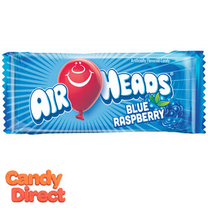 Blue Raspberry Airheads Mini Bars - 25lb Bulk