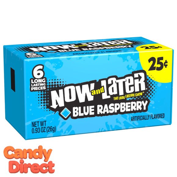 Blue Raspberry Now & Laters - 24ct