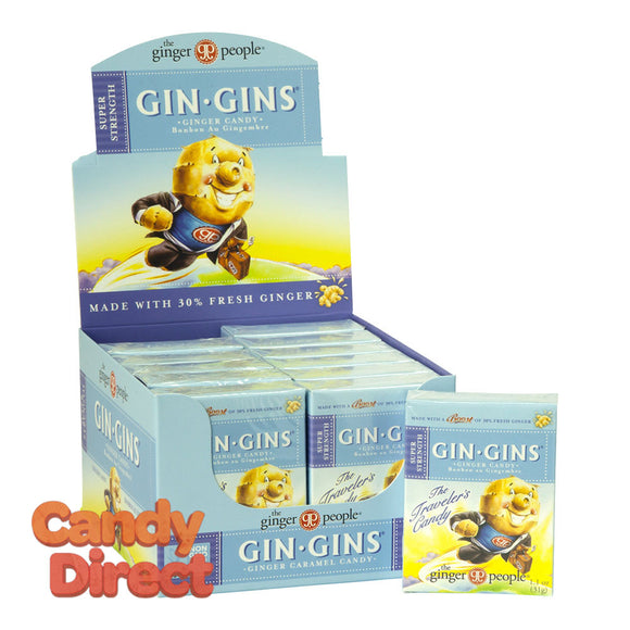 Boost Ginger People Gin Gins 1.1oz Box - 24ct