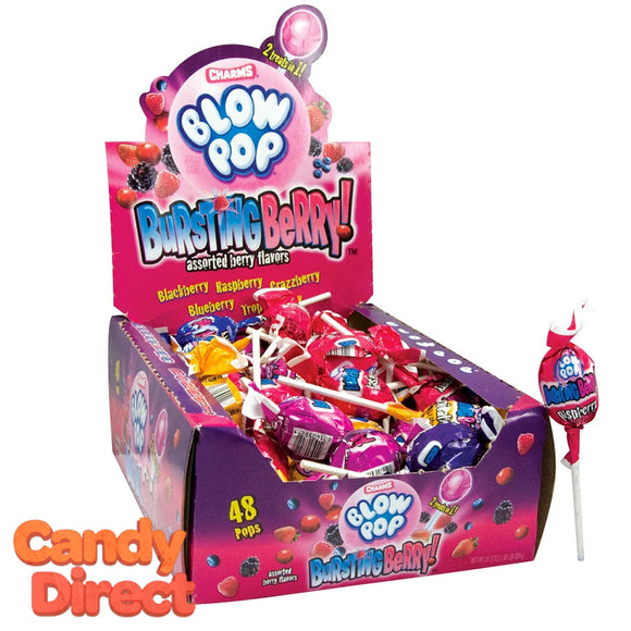 Blow Pops Bursting Berry - 48ct