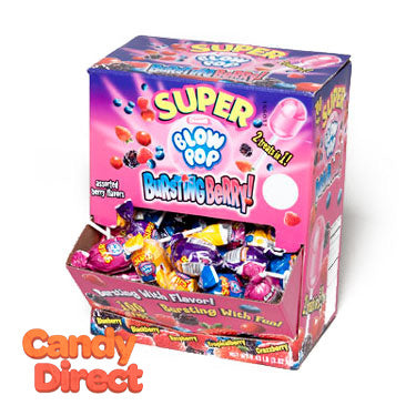 Bursting Berry Super Blow Pops - 100ct