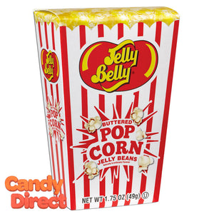 Jelly Belly Buttered Popcorn Box Jelly Beans - 24ct