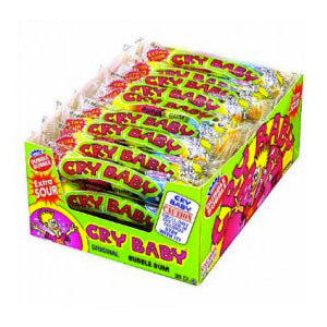 Cry Baby Bubble Gum Balls - 24ct