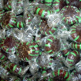 Chocolate Starlight Mints - 5lb Bulk