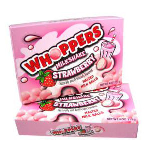 Whoppers Strawberry Milkshake - 12ct
