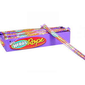 Rainbow Nerds Ropes - 24ct