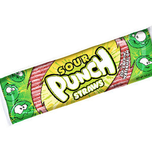 Sour Punch Straws King Size - Watermelon 24ct