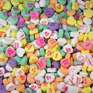 Conversation Hearts - 16lb Bag