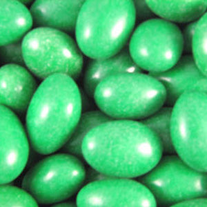 Green Jordan Almonds - Milk Chocolate 5lb