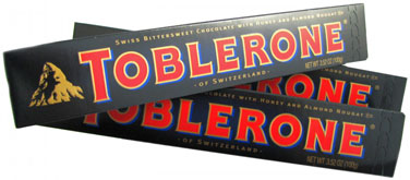 Toblerone - Dark Chocolate - 3.52 oz, 20 count