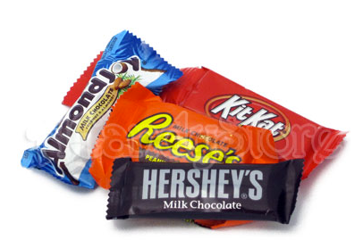 Candy Bar Mix -1lb Snack Size