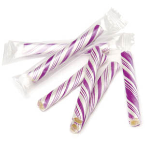 Purple Candy Sticklettes Mini - 250ct