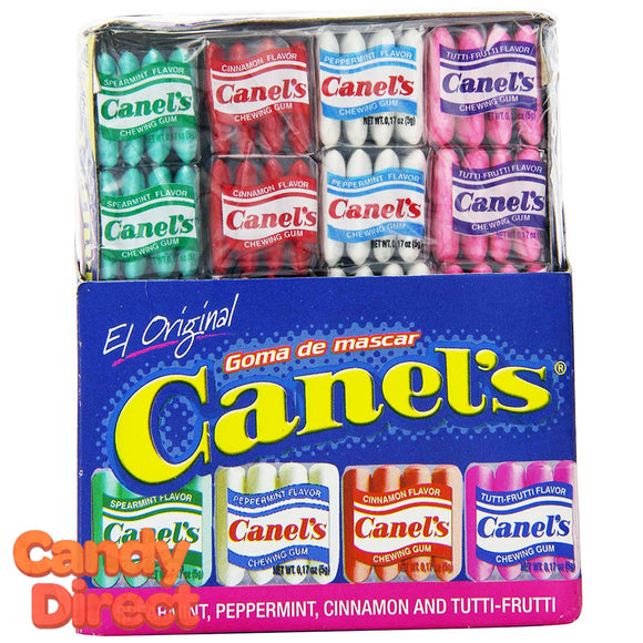 Canel's Assorted Flavor Gum 20-Pack Tray - 12ct