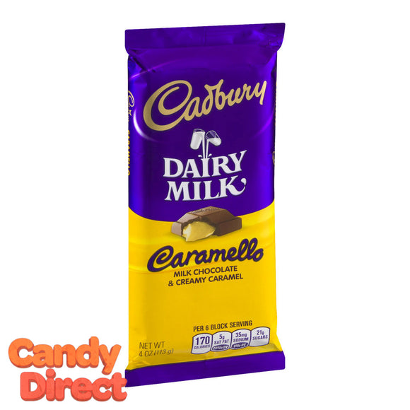 Caramello Cadbury Chocolate Bars - 14ct