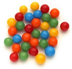 Assorted Jawbreakers 1/4-Inch - 10lb
