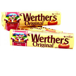 Werthers Original Caramels - 1.8oz Rolls 12ct