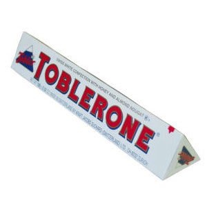 Toblerone White Chocolate Bars - 3.5 oz 20ct