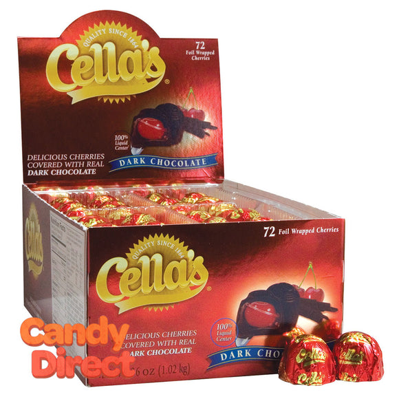 Cella's Cherries Dark Chocolate - 72ct