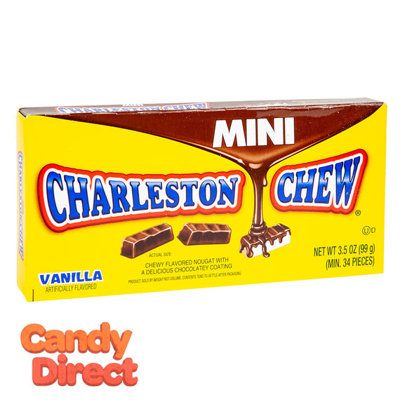 Charleston Mini Pieces Chew 3.5oz Theater Box - 12ct