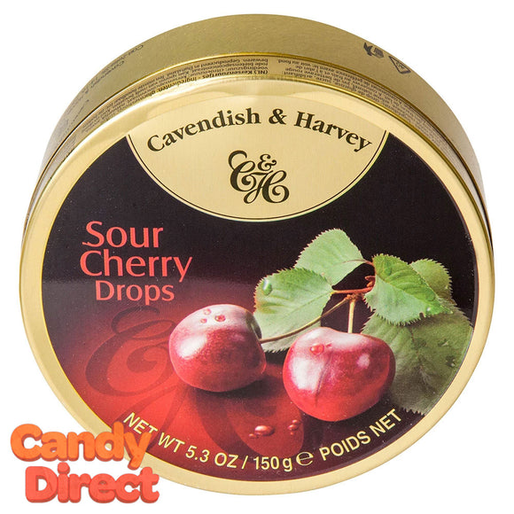 Cherry Cavendish & Harvey Drops - 12ct Tins