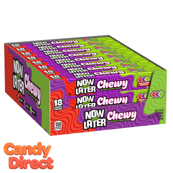 Chewy Now & Later Bars Assorted - 24ct