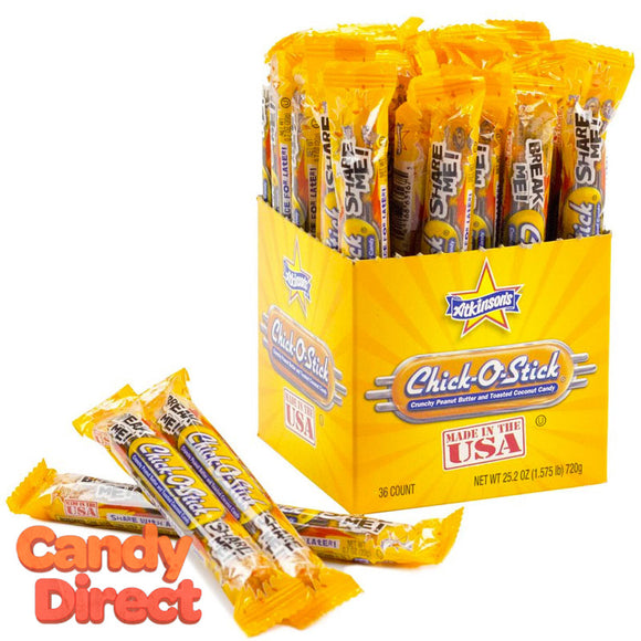 Chick-O-Sticks Candy - 36ct