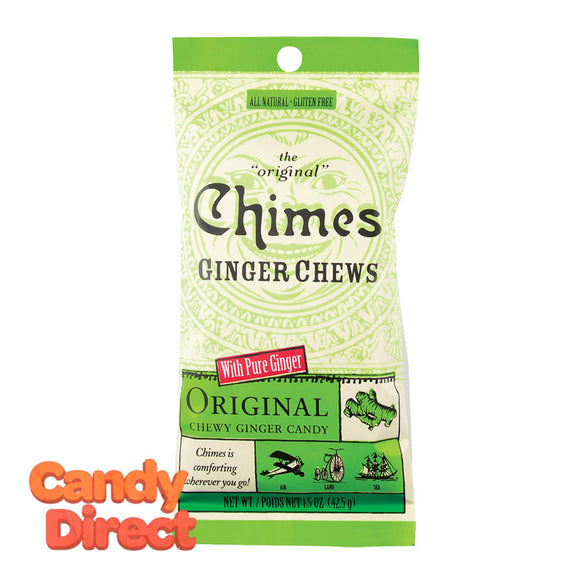 Chimes Ginger Chews Original 1.5oz Bag - 12ct