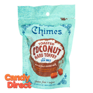 Chimes Hard Toffee Toatste Coconut 3.5oz Pouch - 12ct