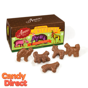 Chocolate Animal Crackers - 12ct Gift Boxes