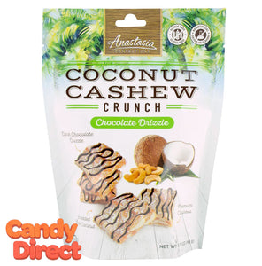 Chocolate Drizzle Coconut Cashew Crunch Pouch - 6ct