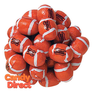 Chocolate Footballs - 5lb Bag