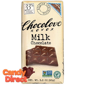 Chocolove Milk Chocolate Bars - 12ct
