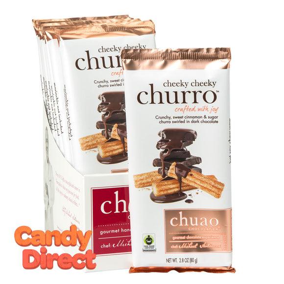 Chuao Cheeky Cheeky Churro Dark Chocolate 2.8oz Bar - 12ct