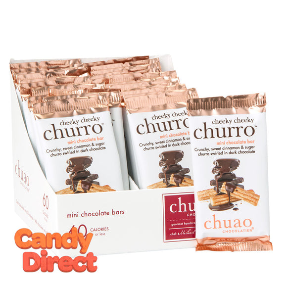 Chuao Cheeky Cheeky Churro Mini Dark Chocolate 0.39oz Bar - 24ct