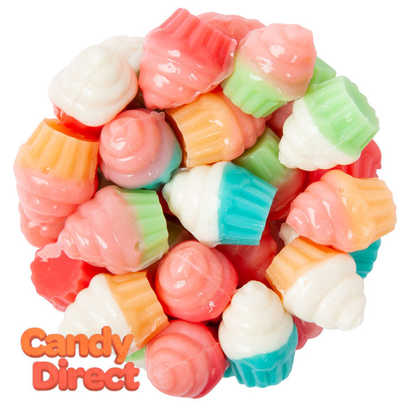 Clever Candy 3D Gummy Cupcakes - 13.2lbs