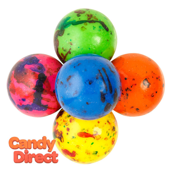 Clever Candy Assorted Jawbreakers With Candy Center 1.75 Inches - 20.9lbs