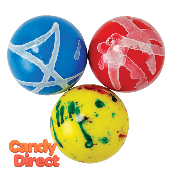 Clever Candy Assorted Jawbreakers With Gum Center 2.25 Inches - 26.6lbs