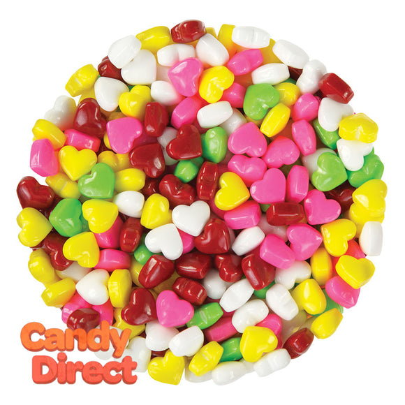 Clever Candy Dextrose Rainbow Hearts - 10lbs