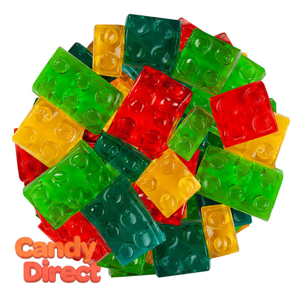 Clever Candy Gummy 3D Building Blocks - 13.2lbs