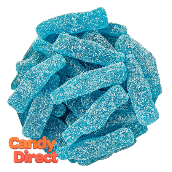 Clever Candy Gummy Sour Blue Raz Bottles - 6.6lbs