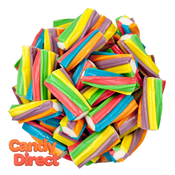 Clever Candy Rainbow Twisters Filled Licorice - 6.6lbs