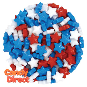 Clever Candy Red White And Blue Dextrose Starzmania - 10lbs