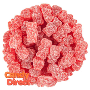 Clever Candy Sour Tart Cherry Flavored Gummy Bears - 6.6lbs